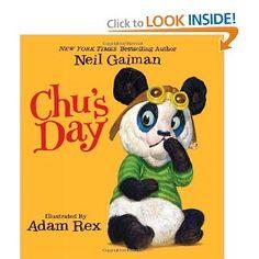 Amazon.com: Chu's Day (9780062017819): Neil Gaiman, Adam Rex: Books