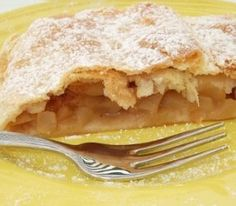 #German #Cuisine Viennese Apple strudel, Wiener Apfelstrudel #recipe