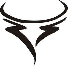 Taurus Taurus Bull Tattoos, Scorpio Zodiac Tattoos, Taurus Logo, Pisces And Taurus, Dragon Tattoo Outline, Ox Tattoo, Cow Logo, Taurus Constellation Tattoo, Arrow Tattoos