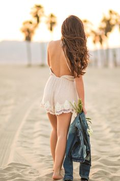 Charlie Taupe Romper