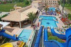 Sidari Waterslide Park Hotel in Sidari Corfu Greece