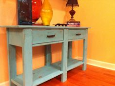 Ana White | Build a Benchwright Console Table | Free and Easy DIY Project and Furniture Plans