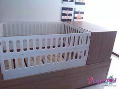 Cama Cuna Funcional y convertible ideal para todas las etapas de tu bebé
