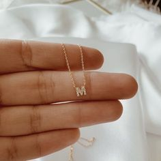 This unique design on this pendant of the moon and star is so different then other pendants. Diamond Initial Necklace, Letter Pendant Necklace, Real Diamond Necklace, Couple Jewelry, Fine Jewelry, Cute Couple Necklaces, Gold Gold, Piercings, Magical Jewelry