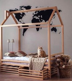 Toddler bed TWIN house bed Crib tent bed children bed wooden house wood wood nursery kids teepee bed bed frame wood house bed gift for son Toddler House Bed, Toddler Rooms, Kids House, Crib Tent, Teepee Bed, Nursery Frames, Wood Nursery, House Frame Bed, House Beds