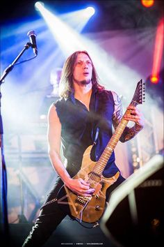 Alex Scholpp playing for Tarja Turunen at Vaakuna Piknik Festival, Finland 2016. PH: https: Niki Soukkio - Sessions2 http://www.sessions2.com/galleries.php