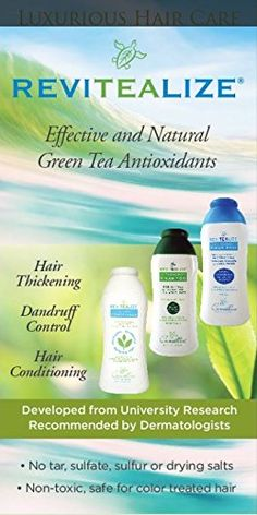 ReviTeaLize Natural Conditioner, Infused with Green Tea Antioxidants and Rosemary Mint Hair Loss Shampoo, Hair Thickening, Hair Conditioner, Hair Care, Mint, How To Get, Personal Care, Tea, Green