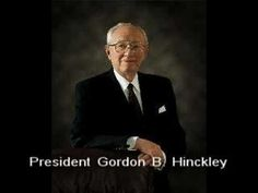 President Hinckley - Story of Bricklayer