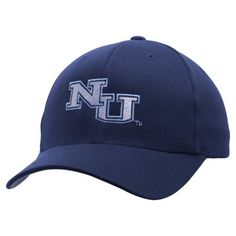 Northwood University of Michigan Timberwolves Fundamental Flex Hat - Navy Blue