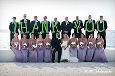 Fun Bridal Party Photos- Perfect for Thank you cards Cute Wedding Ideas, Wedding Pics, Perfect Wedding, Wedding Events, Dream Wedding, Wedding Day, Wedding Inspiration, Post Wedding, Wedding Parties