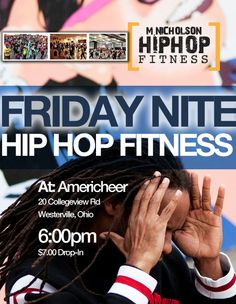 M. Nicholson Hip Hop Fitness classes out  in Westerville, Ohio. Come check it out.
