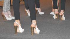 Los zapatos de la pasarela Primavera-Verano 2013 de BAFWEEK