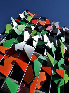 The Pixel Building in Carlton, Melbourne is the first building to be certified Green Star, LEED and BREEAM!
