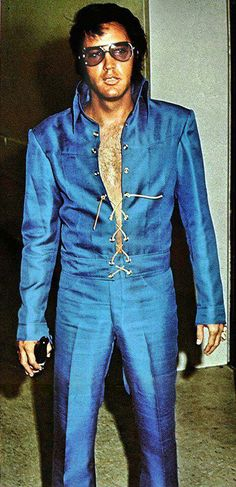 Elvis in 1970.  Saw him in 1970 before drugs destroyed him.  He was a magnificent performer.