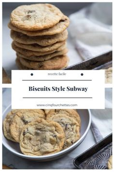 Biscuits Style Subway - Cinq Fourchettes Biscuits, Muffins, Cookies, Breakfast, Desserts, Food, Style, Make Birthday Cake, Meal Prep