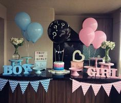 ▷ 1001 + gender reveal ideas for the most important party in your life Finding out your baby's gender is a big deal for lots of families. That is why we want to help you throw the best party with the best gender reveal ideas. Gender Reveal Party Games, Gender Reveal Themes, Gender Reveal Balloons, Gender Reveal Party Decorations, Baby Reveal Ideas, Gender Party Ideas, Gender Reveal Twins, Unique Gender Reveal Ideas, Ideas Party