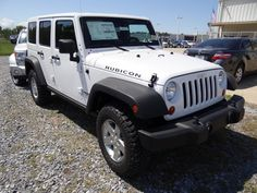 Jeep Wrangler Unlimited RUBICON Bright White