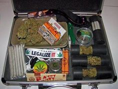 Stoner survival kit.