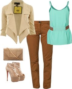 """day"" by lagrace ❤ liked on Polyvore"