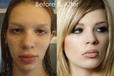You'd look like a star too with a little make-up, lighting and photoshop! This site took ordinary women and turned them into mag ready models.