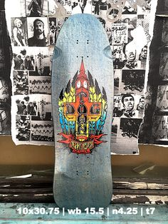 Dogtown Ben Schroeder Pool Series Deck Old School Skateboard