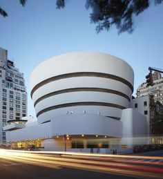 Solomon R. Guggenheim Museum / Frank Lloyd Wright  Location: New York, United States