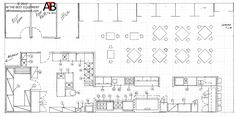 restaurant drawing layout | Restaurant Kitchen Layout