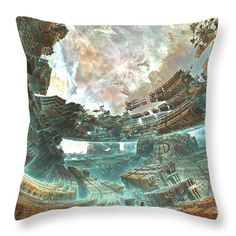 Starting around $25.00 . Throw Pillow available for sale Created in #Mandelbulb3d & edited in Adobe Photoshop. Background image, which is in the public domain, taken from NASA's Hubble Telescope gallery. There is a small watermark on the lower right corner of the image and that will come out in the final #print. #pillow #art #fractal #fractals Use the #discount code: ZFDHHC for a 50% discount on the markup of all of my products in my #FineArtAmerica #store. #Offer valid till December 31st…