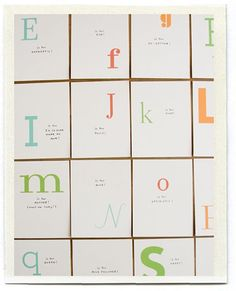 FREE Printable.  Prints all 26 letters of the alphabet.  Write one special memory or trait for each letter.