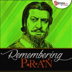 #Pran was not only known as a legendary actor but also as a thorough gentleman. Here's remembering the 'Bad Man' of #bollywood on his birth anniversary -