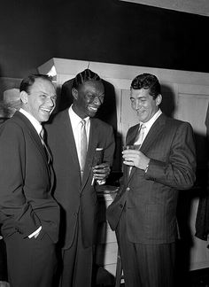 Frank Sinatra, Dean Martin and Nat King Cole / AS1966