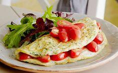 Egg White Omelette