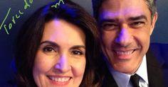 Fátima Bernardes e William Bonner se separam após 26 anos de casamento