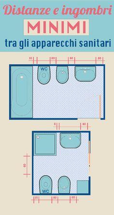 come arredare con stile un bagno di piccole dimensioni Bathroom Spa, Bathroom Layout, Small Bathroom, Tub Shower Doors, Walk In Shower, Arch Interior, Bathroom Interior Design, Mini Loft, Wood Construction