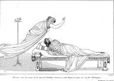 Atena appare in sogno a Penelope Libro VI
