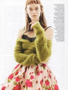The New Vintage Tess Hellfeuer by Karim Sadli for UK Vogue June 2013 [Editorial] - Fashion Copious Vogue Uk, Vogue Fashion, Fashion News, Fashion Trends, Burns Photography, Fashion Photography, Vintage Vogue, Fashion Details, Fashion Design