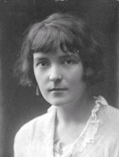 Katherine Mansfield (14 October 1888 – 9 January 1923)
