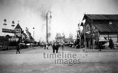 Oktoberfest, 1903 Timeline Classics/Timeline Images #Wiesn #Fest #Volksfest #Rummel
