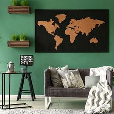 For a verdant and rejuvenating abode, choose from our recommendations for green room colours for your home.Check out paint ideas for green room. // home interiors // home painting ideas // wall painting ideas for home // green paint colors for living room // shades of green wall paint // green wall paint ideas #homeinteriors #wallpainting #wallpaintcolorideas #greencolorpaint #greenwallpaintcolors #greenwallpaintideas #greenroompaintcolors Bedroom Wall Paint Colors, Room Wall Painting, Paint Colors For Living Room, Room Paint, Green Room Colors, Green Paint Colors, Green Rooms, Colours, Wall Paint Colour Combination