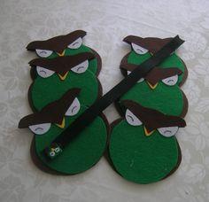 */* hand craft*/* Hippie - Bohemian - shabby - design*/*  - Felt OWL - Coasters - Filz Eulen - untersetzer - Keçe Baykuş Bardak altlığı -bayanbaykuslar@gmail.com