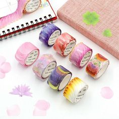 Get awesome stationery and gifts by visiting link in bio or go to www.otriostationery.com 💖 Free shipping to all countries! ✉️ For credit/copyright issue, please email us 🌈 #stationery #washitape #washitapes #washi #kawaiistuff #kawaiilife #kawaiilifestyle Dark Purple Roses, Sticky Paper, Paper Tape, Cool Stickers, Scrapbook Stickers, Flower Petals, Paper Flowers, Stationery, Washi Tapes
