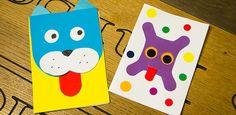 Heute basteln wir Karten, die ganz schön frech sind! Die zeigen ihre Zunge, wackeln mit den Ohren und die Karte mit Nao rollt sogar die Augen. Ihr könnt die selbstgemachten Karten für Geburststagseinladungen oder einfach so nutzen, um jemanden eine Freude zu machen.