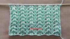 pitircikli-sis-modeli Knitting Stiches, Easy Knitting Patterns, Knitting Designs, Baby Knitting, Stitch Patterns, Crochet Patterns, Crochet For Kids, Knit Crochet, Crochet Videos