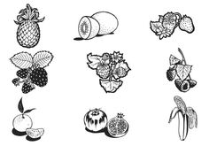 Hand Drawn Brushes Vector Pack - free floral brush pack free ...