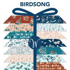Birdsong, BIRDFATQ-X, Windham Fabrics