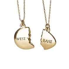 East and West Egg Gatsby Necklace
