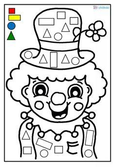 Gratis E-Book: Karneval in der Kita Clown Crafts, Circus Crafts, Carnival Crafts, Preschool Worksheets, Preschool Activities, Activities For Kids, Theme Carnaval, Art For Kids, Crafts For Kids