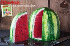 [Schritt für Schritt Anleitung] Wassermelonen Motivtorte