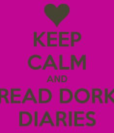 Dork Diaries is a series of books by Rachel Renee Russell. She is the author and even does some of the illustrating in the series. I Love Books, Good Books, My Books, Dork Diaries Books, Favorite Quotes, Best Quotes, For Elise, Keep Calm Quotes, I Love Reading