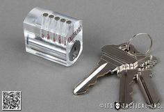 Visible Cutaway Practice Lock